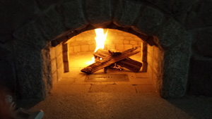 wood fired brick bake oven builders maine
